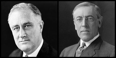 compare and contrast franklin roosevelt and woodrow wilson Woodrow wilson and theodore roosevelt franklin roosevelt advertisement wilson, in contrast.